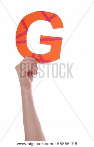 Person Holding G
