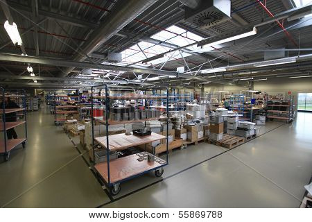 industrial assembly shop