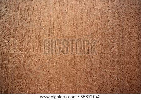 Makore Wood Surface - Vertical Lines