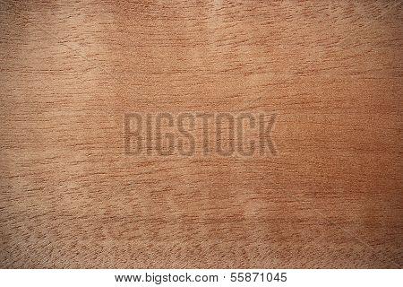 Makore Wood Surface - Horizontal Lines