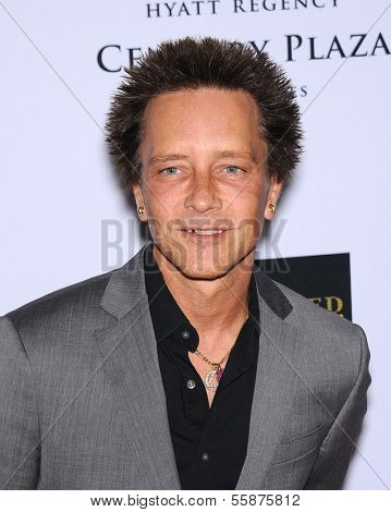 LOS ANGELES - MAY 03:  Billy Morrison arrives to the Race To Erase MS 2013  on May 03, 2013 in Century City, CA