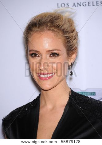LOS ANGELES - MAY 03:  Kristin Cavallari arrives to the Race To Erase MS 2013  on May 03, 2013 in Century City, CA