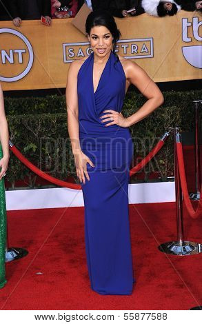 LOS ANGELES - JAN 27:  Jordin Sparks arrives to the SAG Awards 2013  on January 27, 2013 in Los Angeles, CA