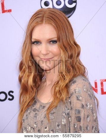 LOS ANGELES - MAY 16:  Darby Stanchfield arrives to the