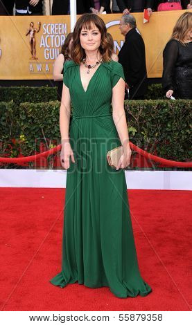 LOS ANGELES - JAN 27:  Alexis Bledel arrives to the SAG Awards 2013  on January 27, 2013 in Los Angeles, CA