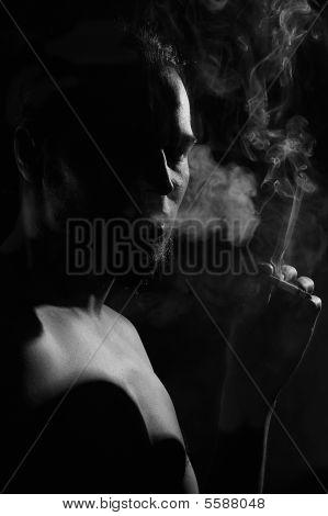 Smoker Silhouette