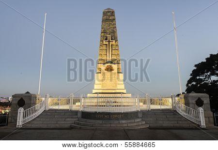Cenotaph Of The Kings Park War Memorial In Perth, Australia
