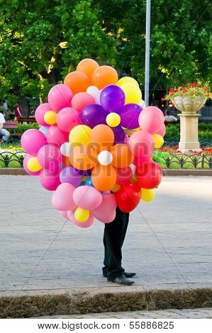 Salesman Of Air Balls