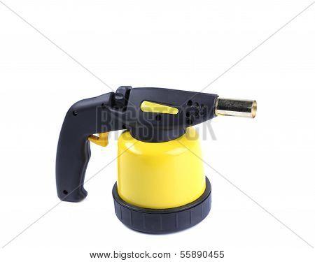 Manual gas burner.