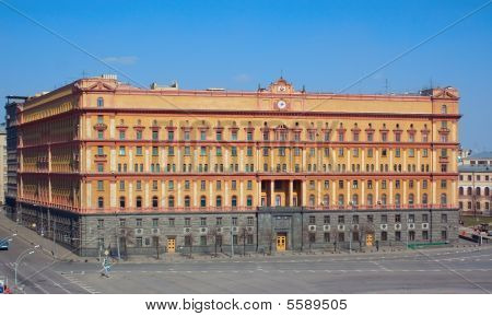 Former Kgb Headquarters In Moscow