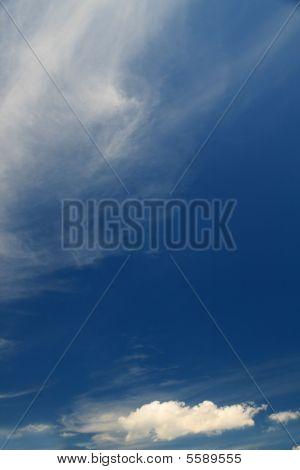 Blue Sky With Subtle Cloudsclouds