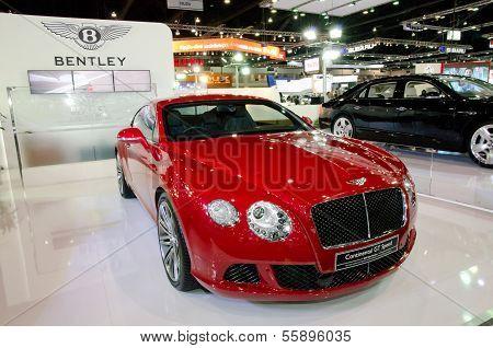 Nonthaburi, Thailand - December 6: Bentley Show Car Model In 30Th Thailand International Motor Expo