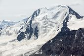 picture of shan  - High mountain with glacier - JPG