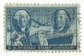 United States Stamp of Centenary