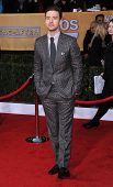 LOS ANGELES - JAN 27:  Justin Timberlake arrives to the SAG Awards 2013  on January 27, 2013 in Los