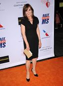 LOS ANGELES - MAY 03:  Linda Gray arrives to the Race To Erase MS 2013  on May 03, 2013 in Century C