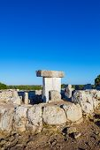 picture of megaliths  - Torralba d - JPG
