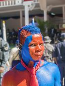 Supporter of president Martelly, Haiti
