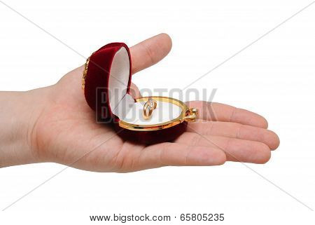 The Guy Gives A Ring