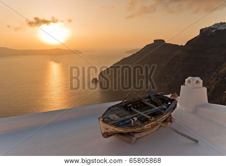Boat on The Roof