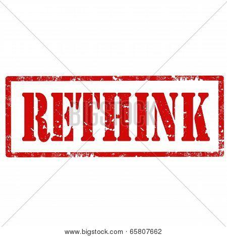 Rethink-stamp