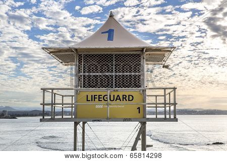 Gold Coast Lifeguard Tower