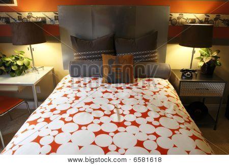 Modern designer bedroom
