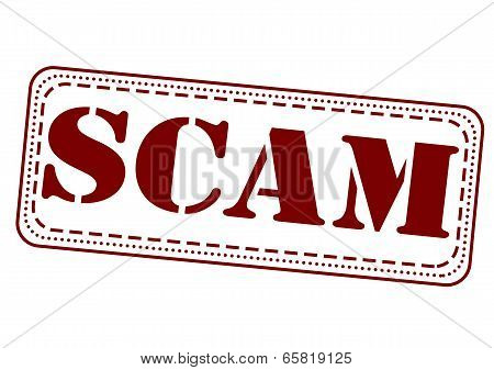 Scam Stamp