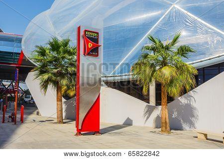 Ferrari World Park In  Abu Dhabi