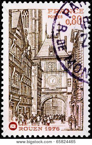 Rouen Stamp