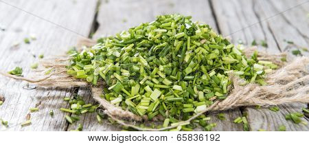 Heap Of Fresh Cutted Chives