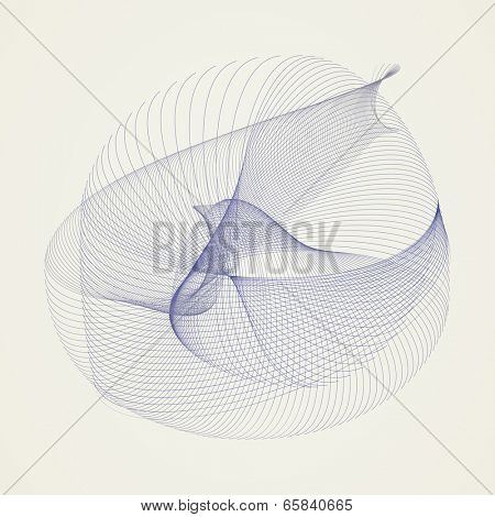 Pigeon Design - Abstract Background Vector Illustration