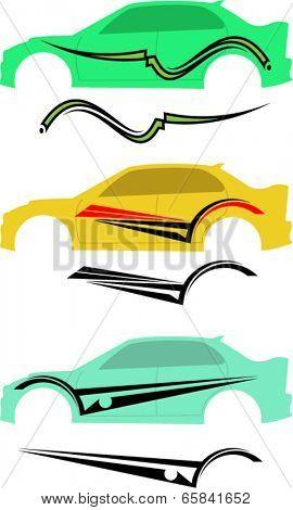 Vehicle Graphics, Stripe : Vinyl Ready