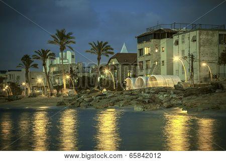 Mediterranean esplanade