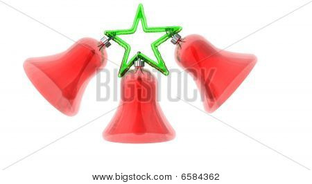 Christmas Bells with Star