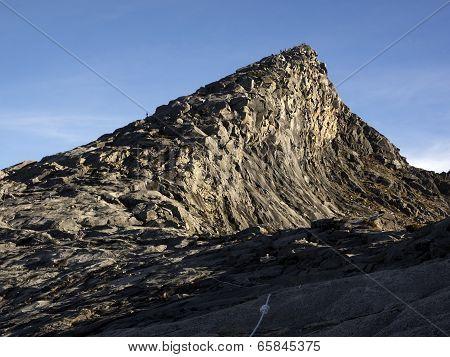Low's Peak at Mount Kinabalu in Sabah, Malaysia