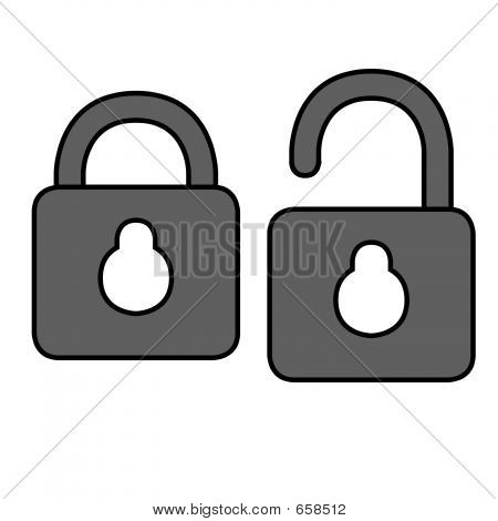 Locks Outline