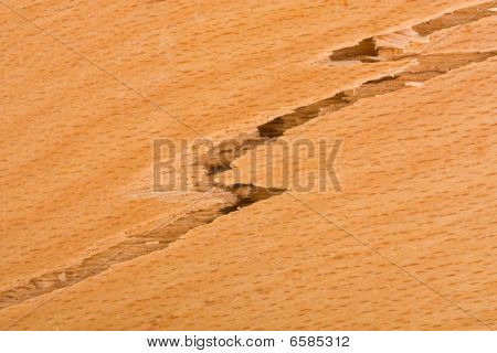 Wooden Background Crack