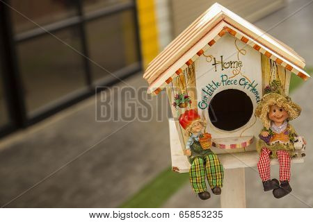 Doll And Miniature House