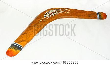 Wood Boomerang