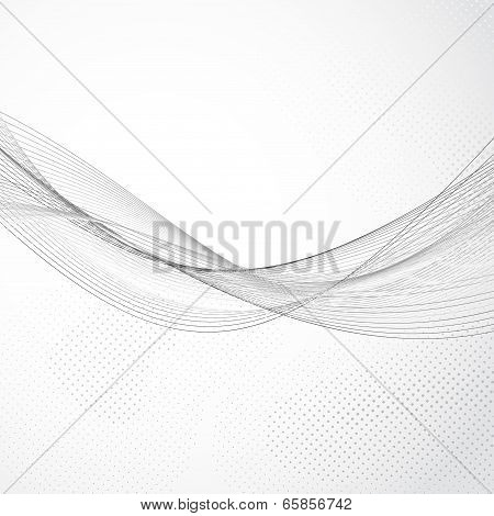 Modern Abstract Swoosh Lines Flow