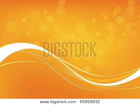 Abstract Orange Background. Vector