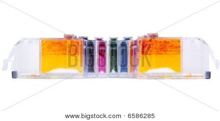 Empty Inkjet Printer Ink Cartridges