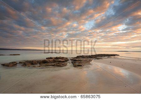 Sunrise Scottish Rocks Australia