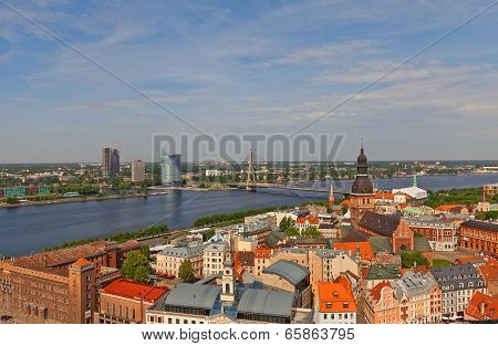 View Of Old Town. Riga, Latvia