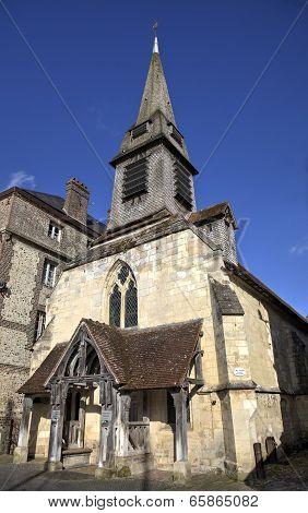 Old church. Honfleur, France