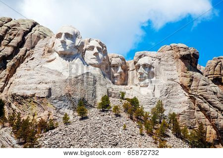 Mount Rushmore Monument In South Dakota