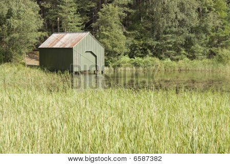 Green boatshed