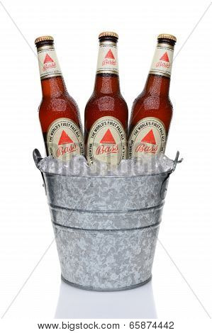 Bass Pale Ale In Ice Bucket