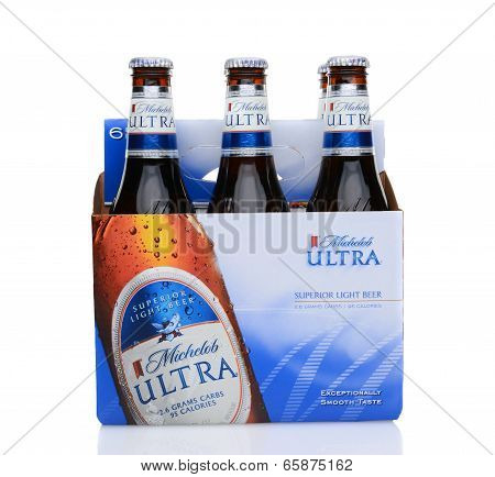 Michelob Ultra Six Pack Side
